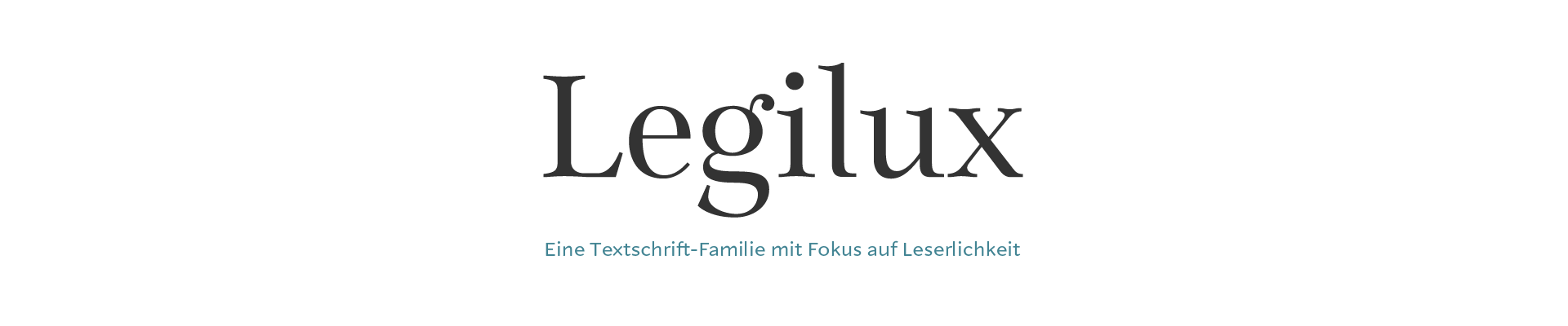 Legilux Schriftsippe